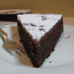 chocolade amandel taart