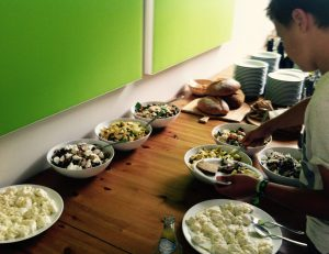 buffet tafel